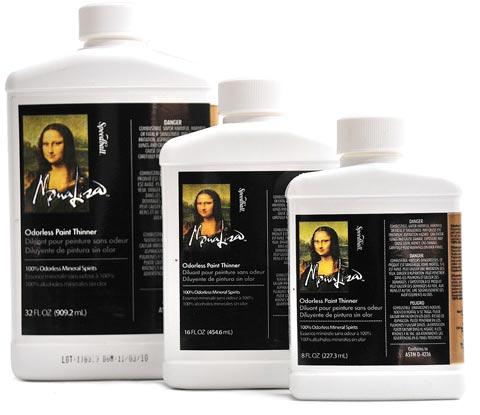 Mona Lisa Odorless Paint Thinner By Mona Lisa Raw Materials Art
