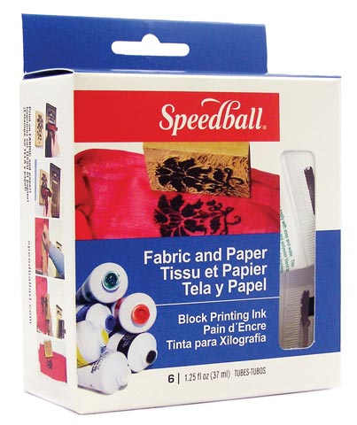 Fabric & Paper Block Printing Kit