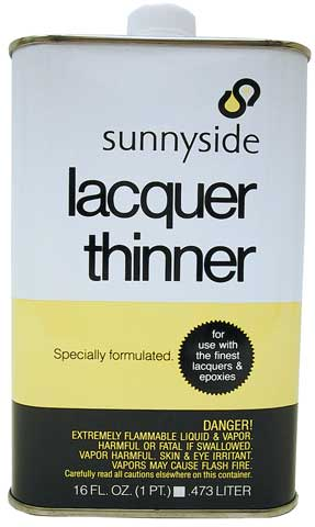Lacquer Thinner by Sunnyside - Raw Materials Art Supplies