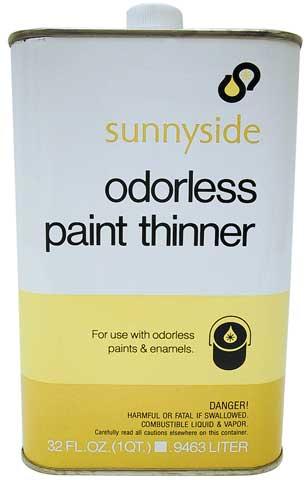 Odorless Paint Thinner by Sunnyside - Raw Materials Art Supplies
