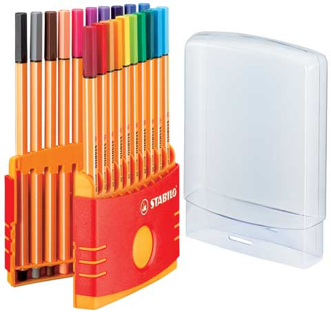 Point 88 Color Parade Pen Set