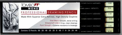 MONO Professional Drawing Pencil Set