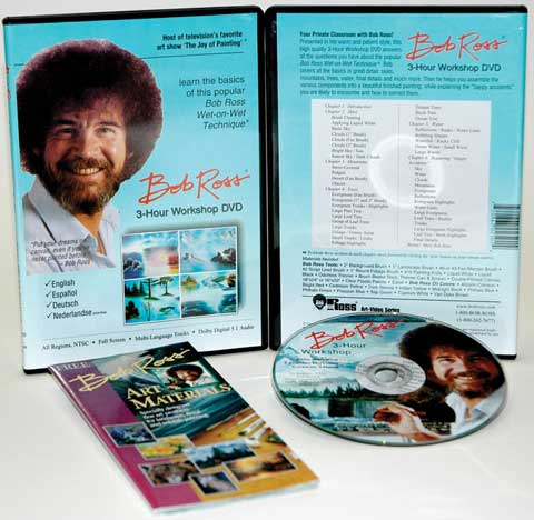 Bob Ross 3 Hour Workshop DVD