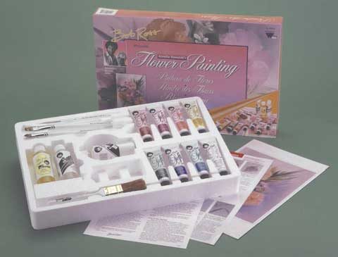 Flower Painting Kit