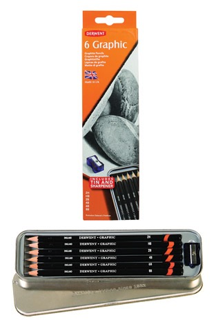 6-Pencil Tin Sets