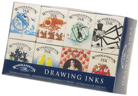 Introductory Drawing Ink Set