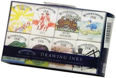 Drawing Inks Set