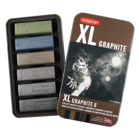 XL Graphite Tin 6-Piece Set