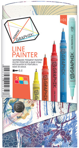 Graphik Line Painter Marker Sets