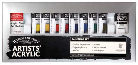 Artists' Acrylic Color Sets