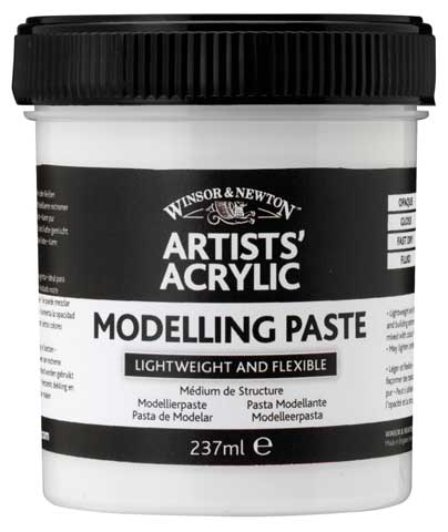 Artists' Acrylic Modeling Paste