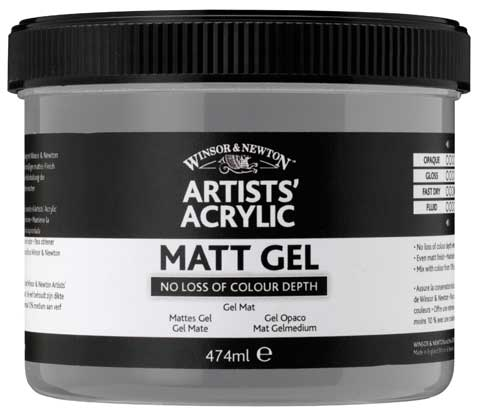 Artists' Acrylic Matt Gel