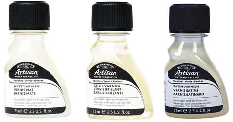 Artisan Water Mixable Varnishes