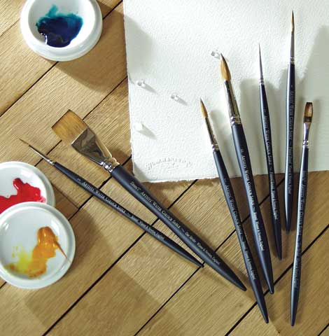 Artists' Watercolor Sable Brushes