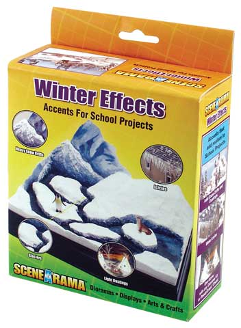Scene-A-Rama Winter Effects Accent Kit