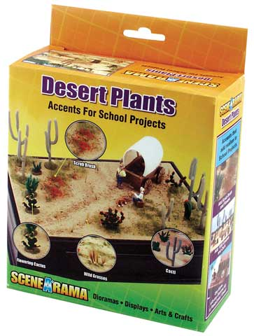 Scene-A-Rama Desert Plants Accent Kit