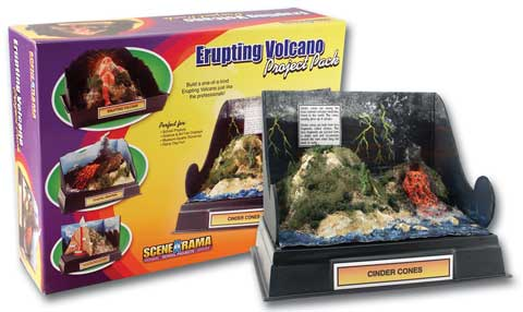 Scene-A-Rama Project Packs Erupting Volcano Kit