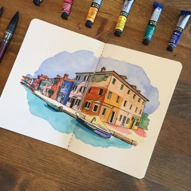 Strathmore Watercolor Travel Journals & Pads