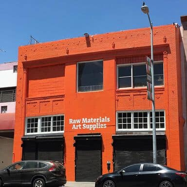 Raw Materials Art Supplies Downtown Los Angeles